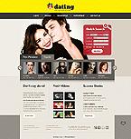 Dating Website  Template 39326