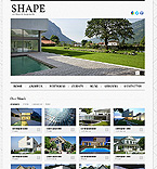 Architecture Website  Template 39333