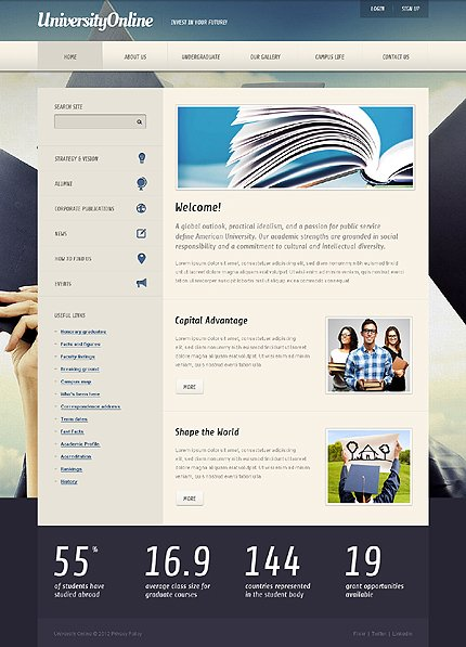 Joomla Theme/Template 39351 Main Page Screenshot