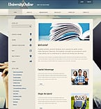 Education Joomla  Template 39351