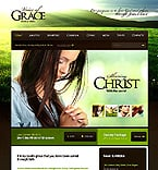 Religious Website  Template 39358