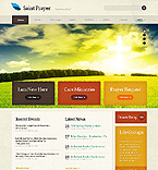 Religious Website  Template 39364