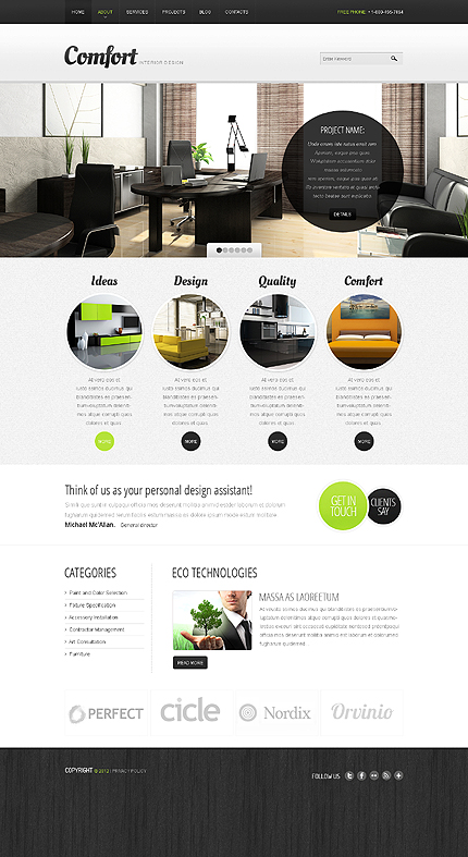 Drupal Template 39366 Main Page Screenshot