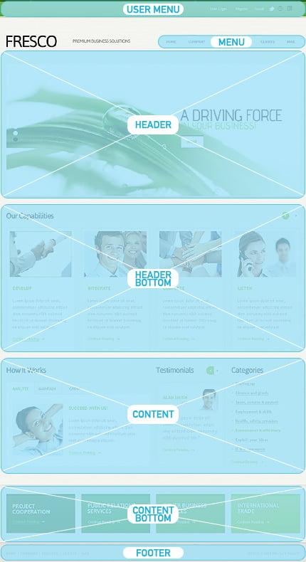Drupal Template 39367 Main Page Screenshot