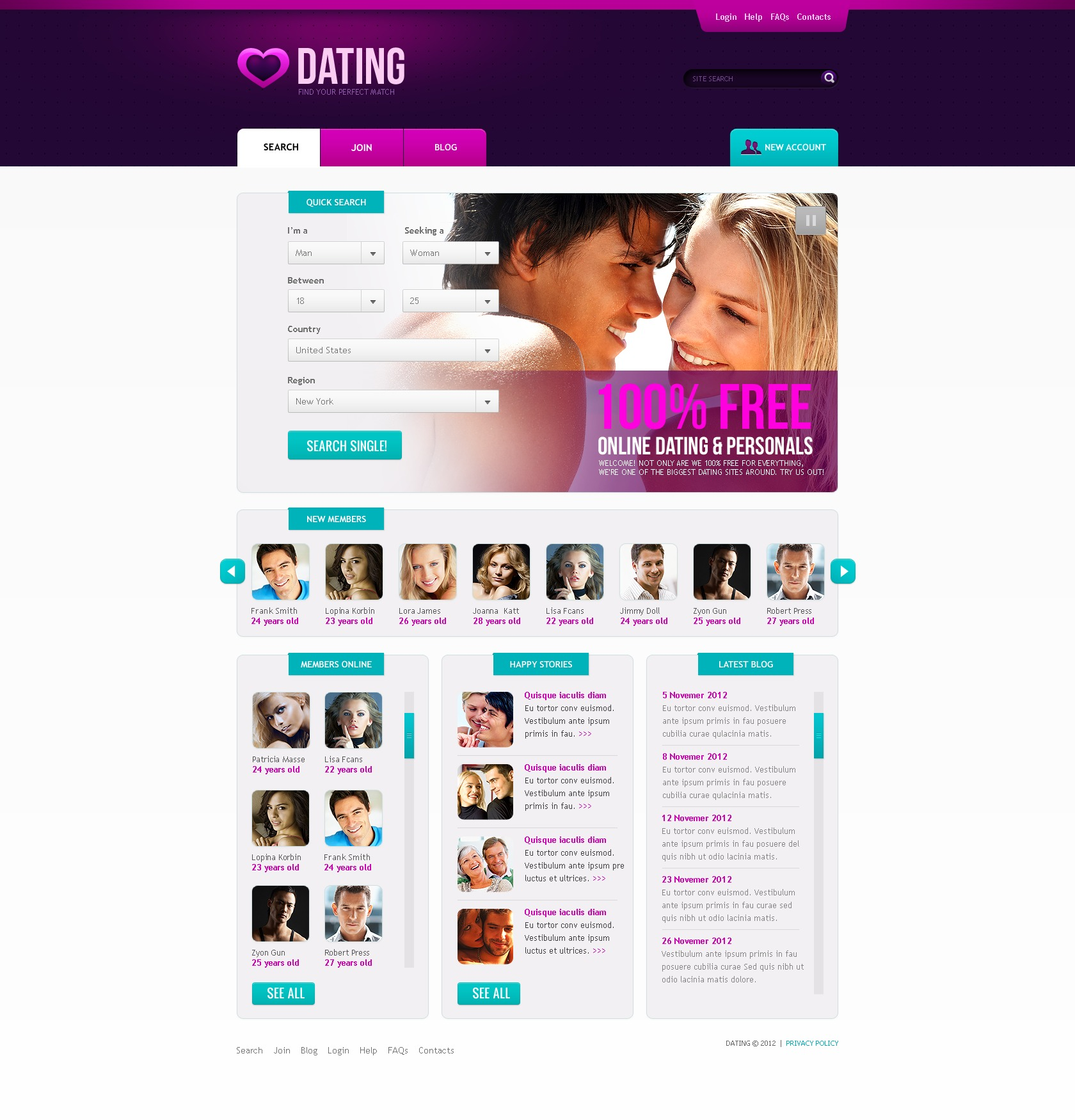 Dating website for 25 year olds