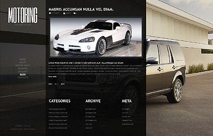 Template 39427 ( Blog Page ) ADOBE Photoshop Screenshot