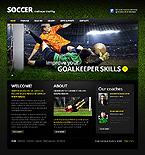Sport Website  Template 39454