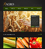 Agriculture Website  Template 39461