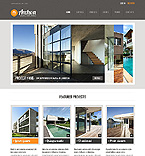 Architecture Website  Template 39464