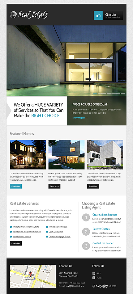 ADOBE Photoshop Template 39470 Home Page Screenshot