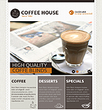 Cafe & Restaurant Facebook  Template 39494