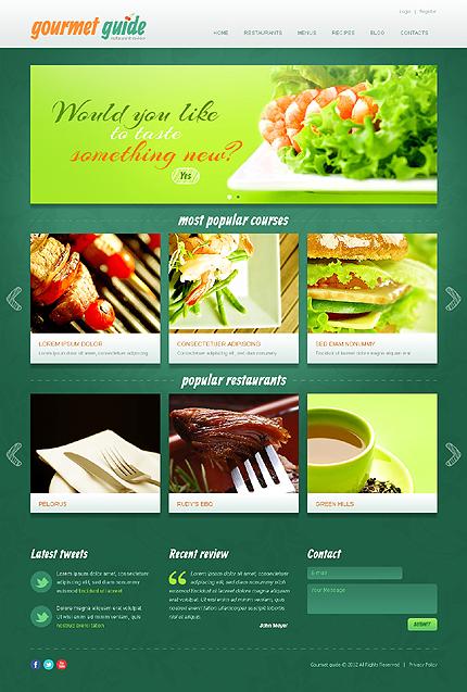 Joomla Theme/Template 39502 Main Page Screenshot