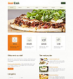 Food & Drink Website  Template 39507