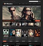 Entertainment Website  Template 39510