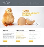 Agriculture Website  Template 39514