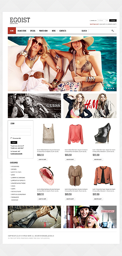 ADOBE Photoshop Template 39526 Home Page Screenshot