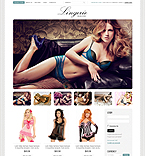 Fashion VirtueMart  Template 39528
