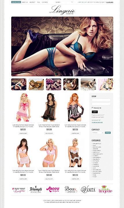 ADOBE Photoshop Template 39528 Home Page Screenshot