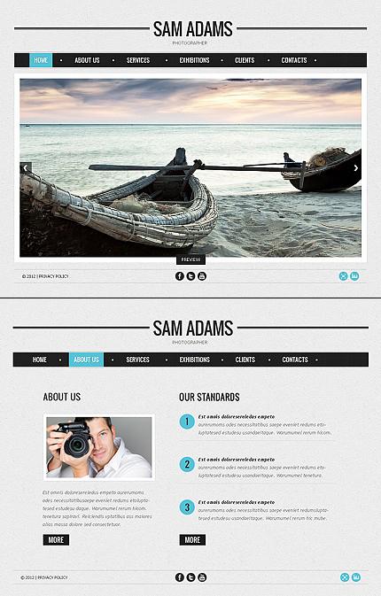 ADOBE Photoshop Template 39531 Home Page Screenshot