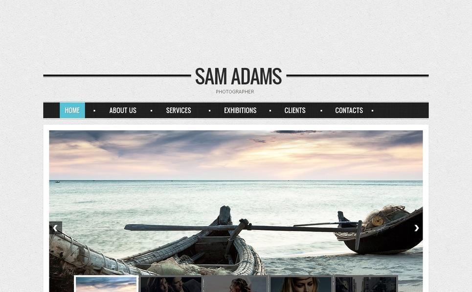 Szablon Galerii Zdjęć #39531 na temat: portfolio fotograficzne New Screenshots BIG