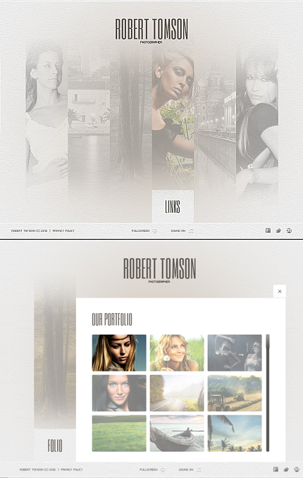 ADOBE Photoshop Template 39532 Home Page Screenshot
