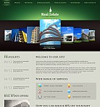 Real Estate Flash CMS  Template 39535