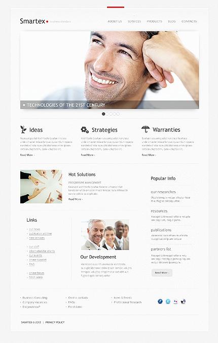 Joomla Theme/Template 39543 Main Page Screenshot
