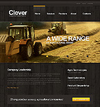 Agriculture Website  Template 39548