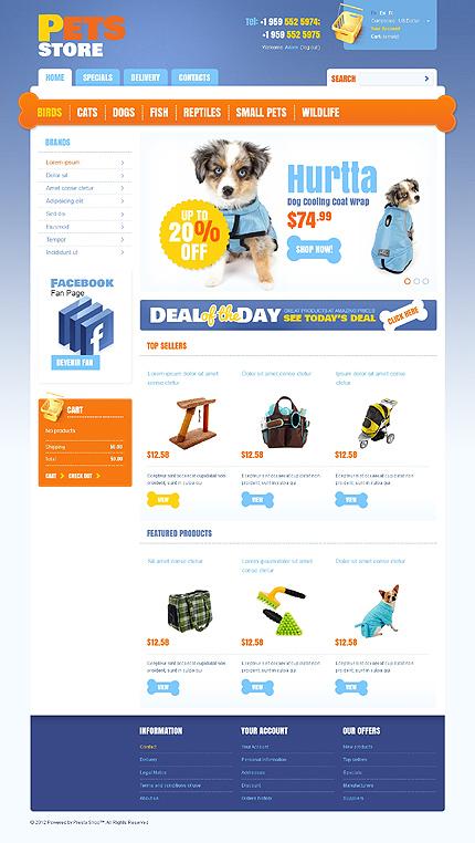 ADOBE Photoshop Template 39553 Home Page Screenshot