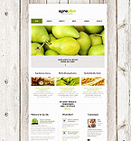 Agriculture Website  Template 39559