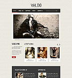 Art & Photography Website  Template 39560