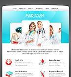 Medical Website  Template 39564