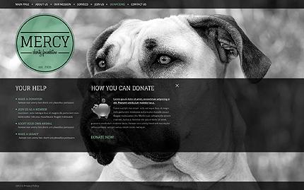 Template 39568 ( Donations Page ) ADOBE Photoshop Screenshot