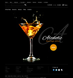Food & Drink osCommerce  Template 39588