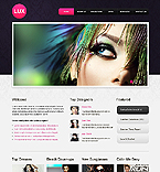 Fashion Website  Template 39605