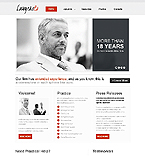Law Website  Template 39606