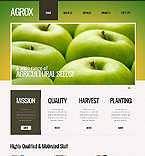 Agriculture Website  Template 39611