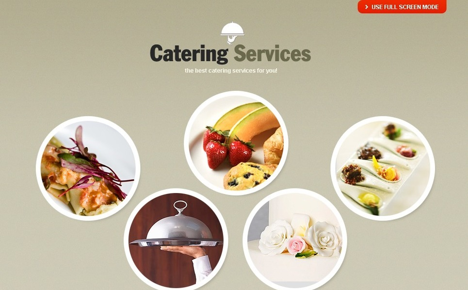 Catering  Flash Cms Şablon New Screenshots BIG
