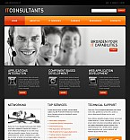 Communications Flash CMS  Template 39624