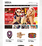 Fashion ZenCart  Template 39632