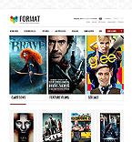 Entertainment ZenCart  Template 39634