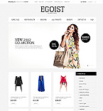 Fashion ZenCart  Template 39635