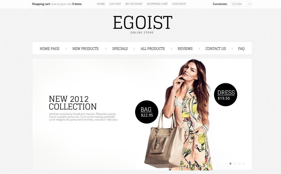Template ZenCart  para Sites de Loja de Moda №39635 New Screenshots BIG