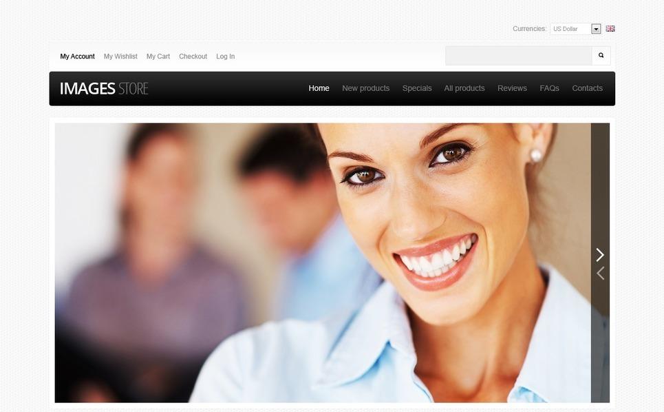 ZenCart Vorlage für Stockfoto New Screenshots BIG