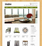 Furniture ZenCart  Template 39637