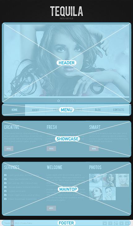 Drupal Template 39655 Main Page Screenshot