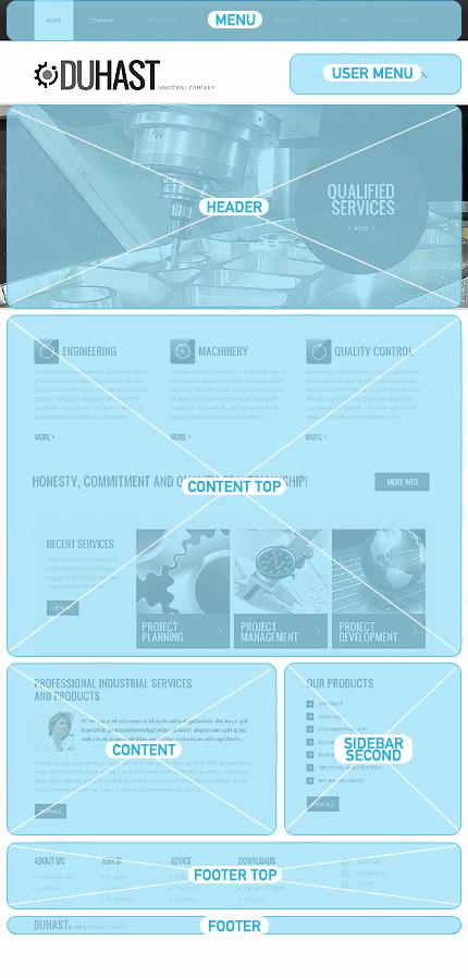 Drupal Template 39656 Main Page Screenshot