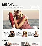 Fashion Drupal  Template 39657