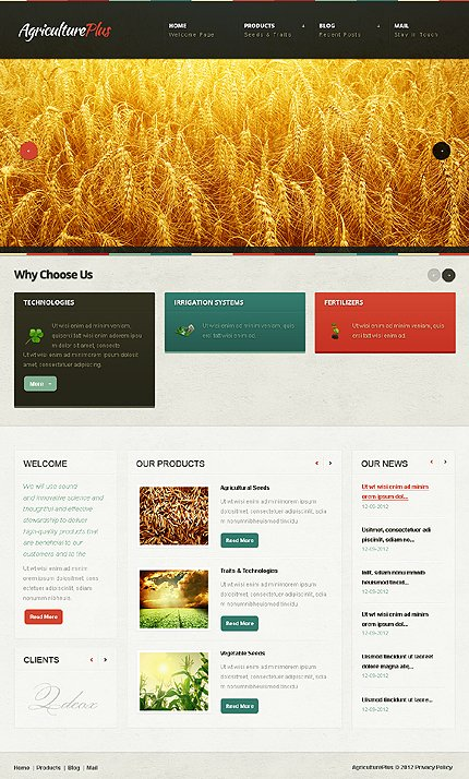 Drupal Template 39659 Main Page Screenshot