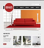 Furniture Website  Template 39681